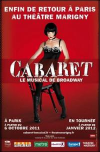Poster art for <i>Cabaret</i>