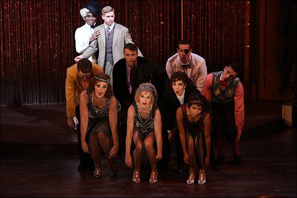 The cast of Cabaret