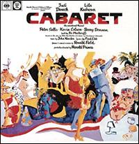 Cover art for the reissue of the original London cast album of <I>Cabaret.</I>