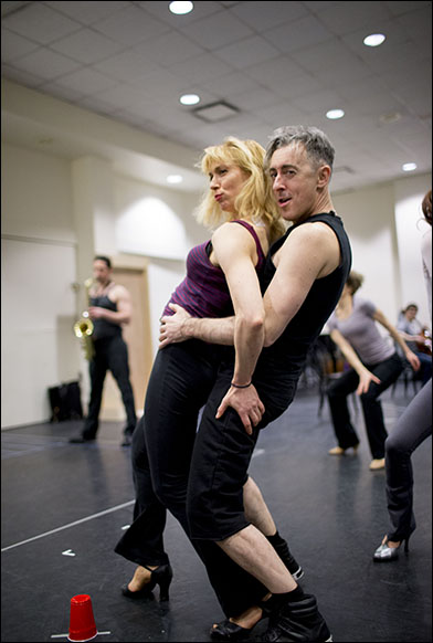 Kristin Olness and Alan Cumming