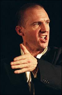 Ralph Fiennes in <I>Julius Caesar</I> at the Barbican Centre
