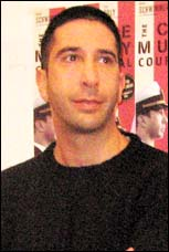 David Schwimmer at the press preview for <i>The Caine Mutiny Court-Martial</i>.