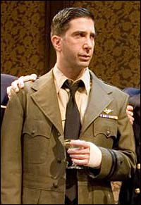 David Schwimmer in <i>The Caine Mutiny Court-Martial</i>.