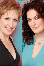 Liz and Ann Hampton Callaway