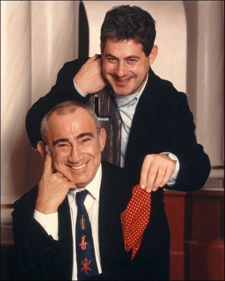Mackintosh and Oliver composer Lionel Bart in 1994.
