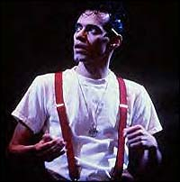 Marc Anthony from the 1998 Broadway production of <i>The Capeman</i>.