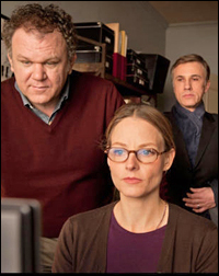 John C. Reilly, Jodie Foster and Christoph Waltz in