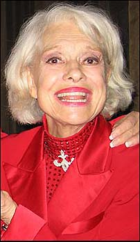 Carol Channing tour dates