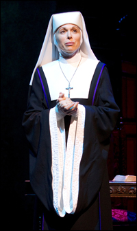 Carolee Carmello in <i>Sister Act</i>.