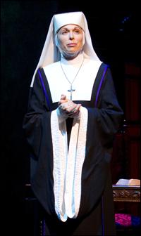 Carolee Carmello in <i>Sister Act</i>.