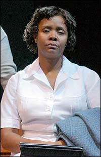 Tonya Pinkins in the Broadway production of <I>Caroline, or Change</I>