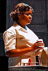 Tonya Pinkins as the title character in <i>Caroline, or Change</i>
