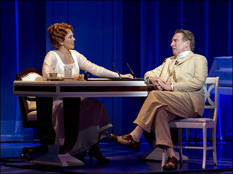 Carolee Carmello and George Hearn in Scandalous