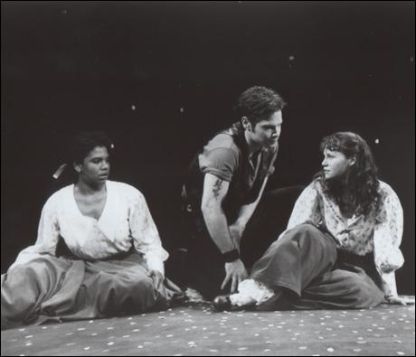 Audra McDonald, Michael Hayden and Sally Murphy in Carousel, 1994