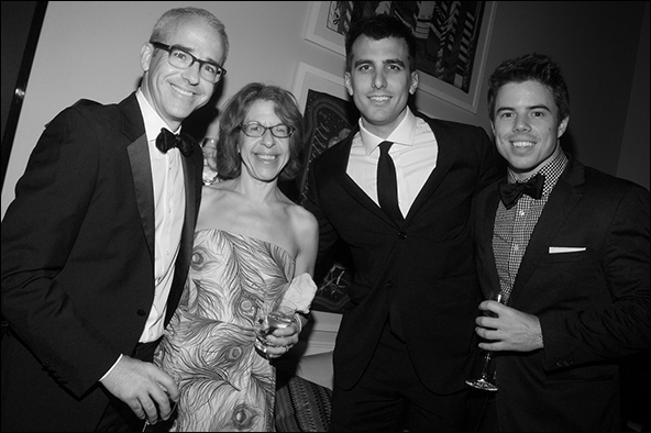 Jess Cagle, Jackie Hoffman, Paul Downs Colaizzo and Dave Hull