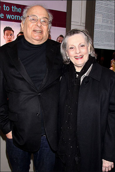 Alfred Uhry and Dana Ivey