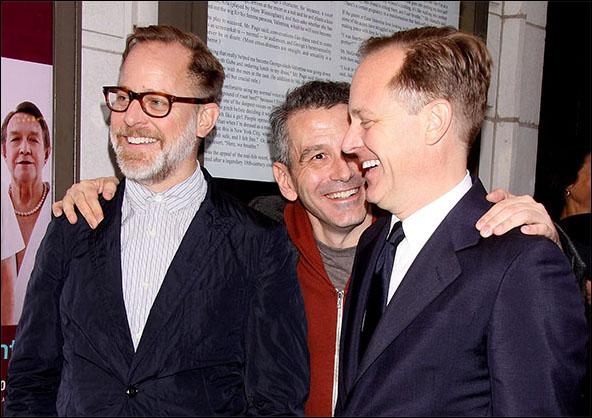 Bruce Pask, David Cromer and Scott Pask