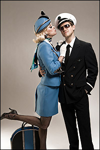 <I>Catch Me If You Can</I> stars Angie Schworer and Aaron Tveit