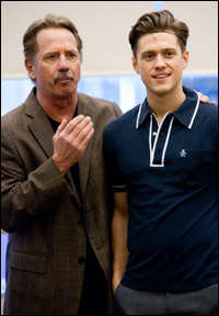 Tom Wopat and Aaron Tveit perform at a Feb. 10 press preview.