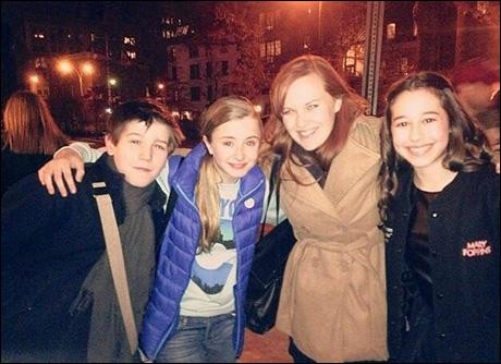 Sawyer Nunes, Kerry Ingram, Tiffany Schleigh and Carly Baron