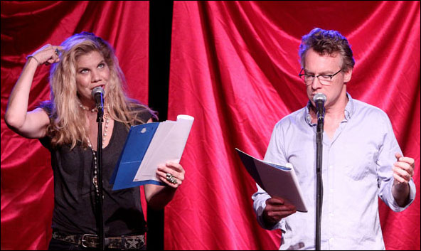 Kristen Johnston and Tate Donovan