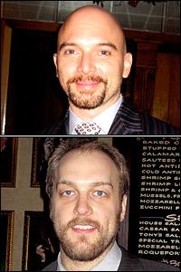 Michael Cerveris and Alexander Gemignani