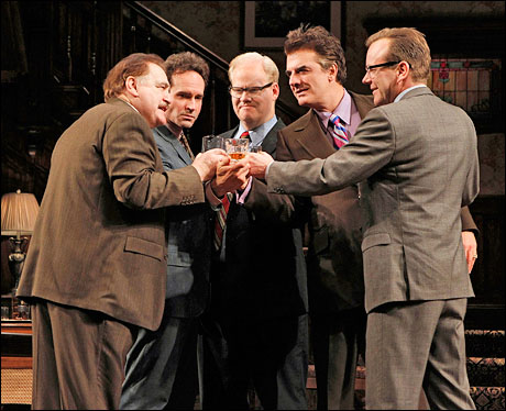 Brian Cox, Jason Patric, Jim Gaffigan, Chris Noth and Kiefer Sutherland