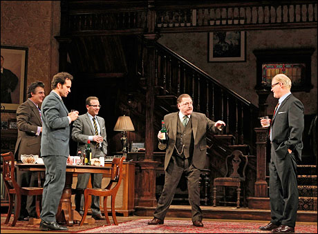 Chris Noth, Jason Patric, Kiefer Sutherland, Brian Cox and Jim Gaffigan