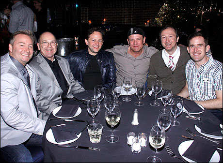 Randy Slovacek, Bill Bateman, Julian Brightman, Bobby Randle, Halden Michael and Kevin Burrows
