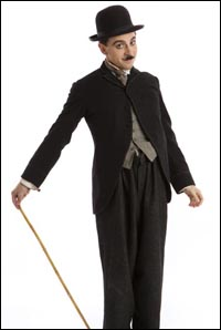 Rob McClure as <i>Chaplin</i>