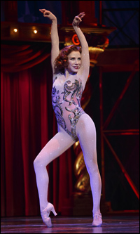 Charlotte d'Amboise in <i>Pippin</i>.