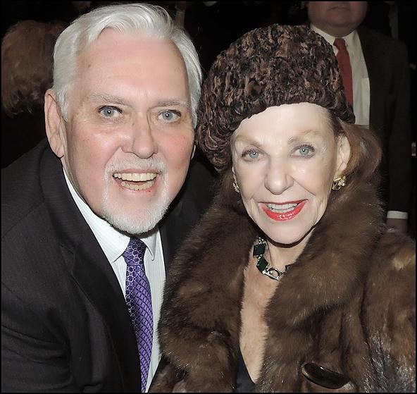 Jim Brochu and Joan Copeland