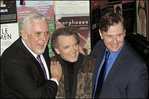 Jim Brochu, Charles Busch and Robert Bartley