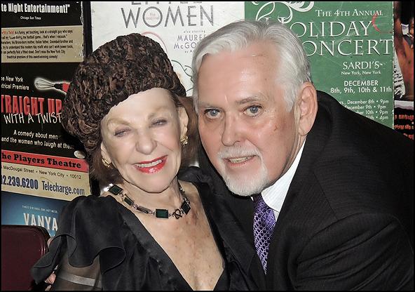Joan Copeland and Jim Brochu