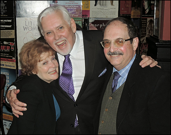 Anita Gillette, Jim Brochu and Lewis J. Stadlen