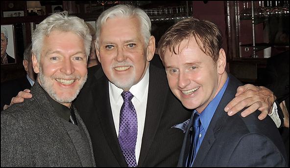 Tony Sheldon, Jim Brochu and Robert Bartley