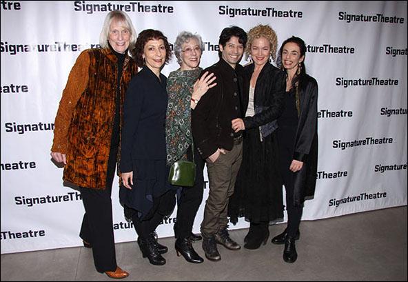 Tina Howe, Sarah Rothenberg, Martha Clarke, Herman Cornejo, Amy Irving and Alessandra Ferri