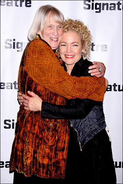 Tina Howe and Amy Irving