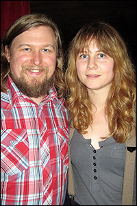 Michael Chernus and Annie Baker