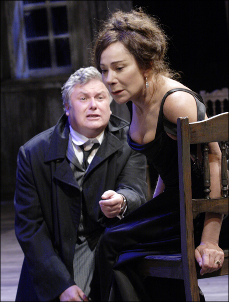 Conleth Hill and Zoё Wanamaker