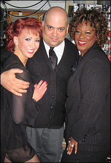 Bonnie Langford, Raymond Bokhour and Kecia Lewis-Evans