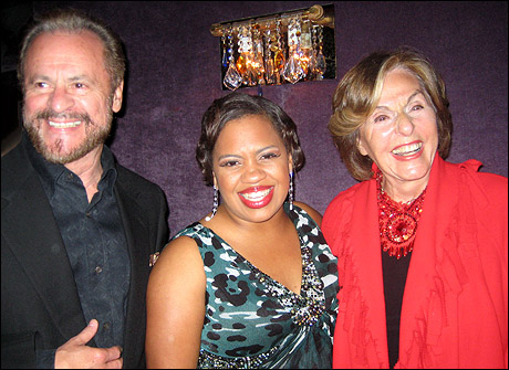 Barry Weissler, Chandra Wilson and Fran Weissler