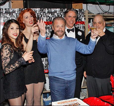 Bianca Marroquin, Leigh Zimmerman, Barry Weissler, Jeff McCarthy and Raymond Bokhour