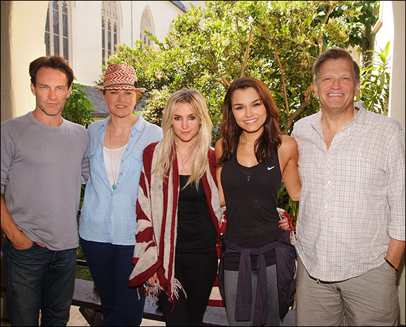 Stephen Moyer, Lucy Lawless, Ashlee Simpson, Samantha Barks and Drew Carey