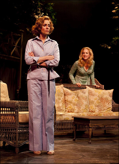 Judith Light and Katie Finneran in the Westport Country Playhouse production A.R. Gurney's Children.
