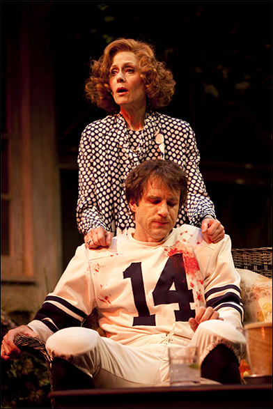Judith Light and James Waterston in the Westport Country Playhouse production A.R. Gurney's Children.