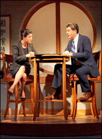 Jennifer Lim and Gary Wilmes