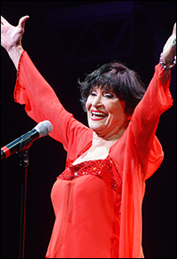 Chita Rivera takes the stage