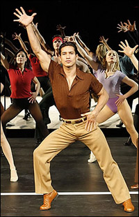 Mario Lopez in <I>A Chorus Line</I>