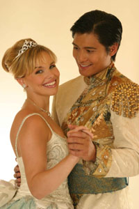 Angela Gaylor and Paolo Montalban in <I>Cinderella</I>